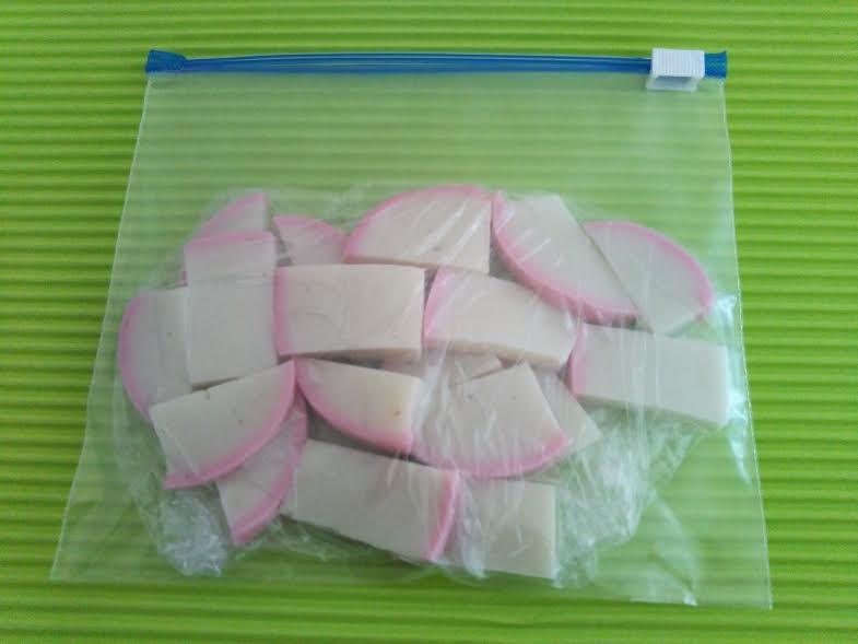 蒲鉾の冷凍保存方法