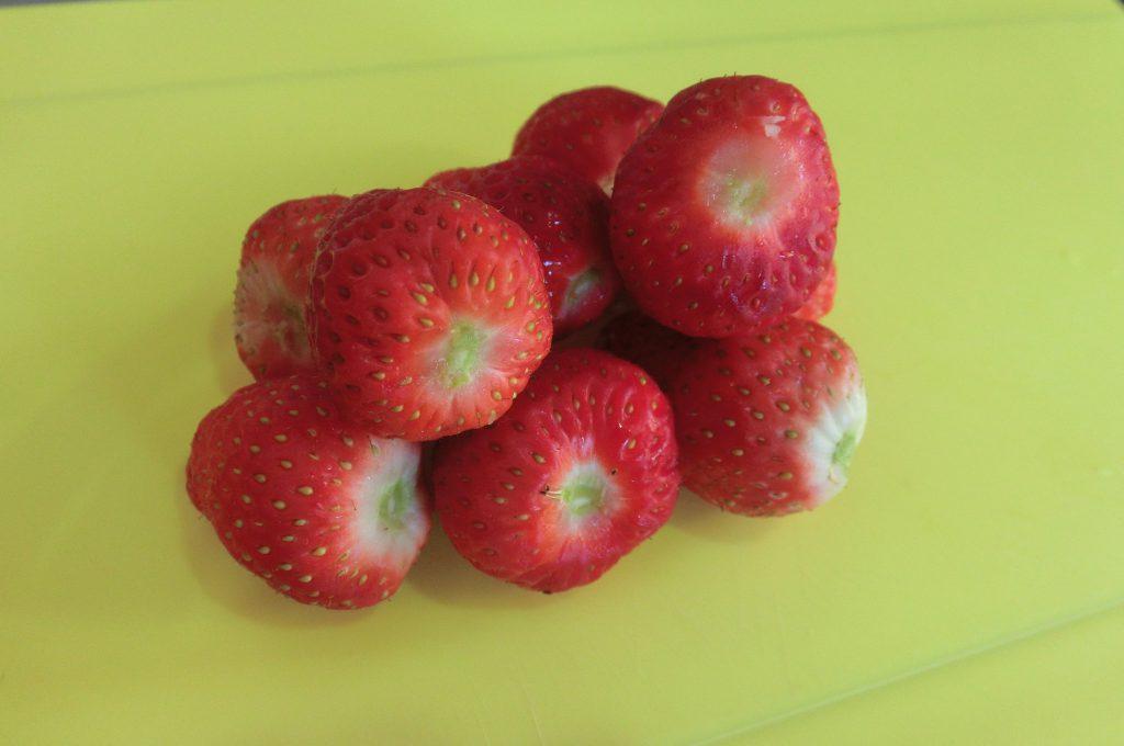 イチゴの冷凍