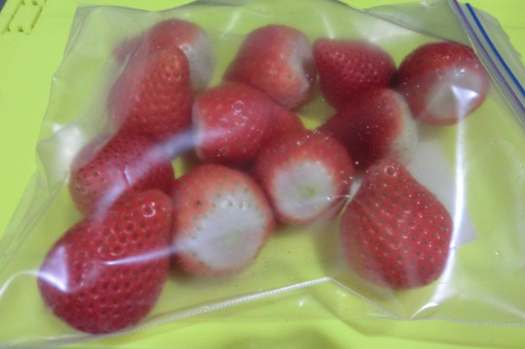 イチゴの保存方法