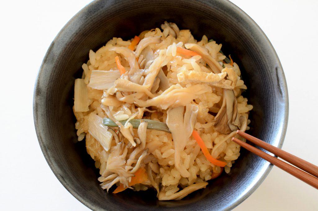 簡単レシピの炊き込みご飯