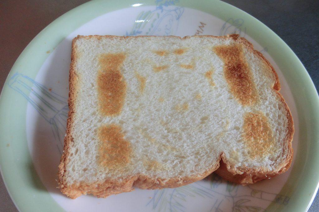 食パンの解凍