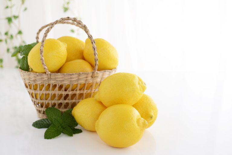 レモンの冷凍