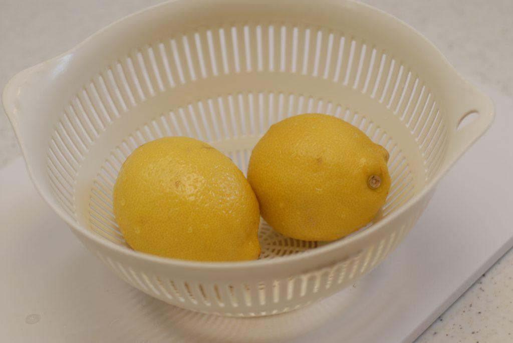 冷凍レモンの使い方