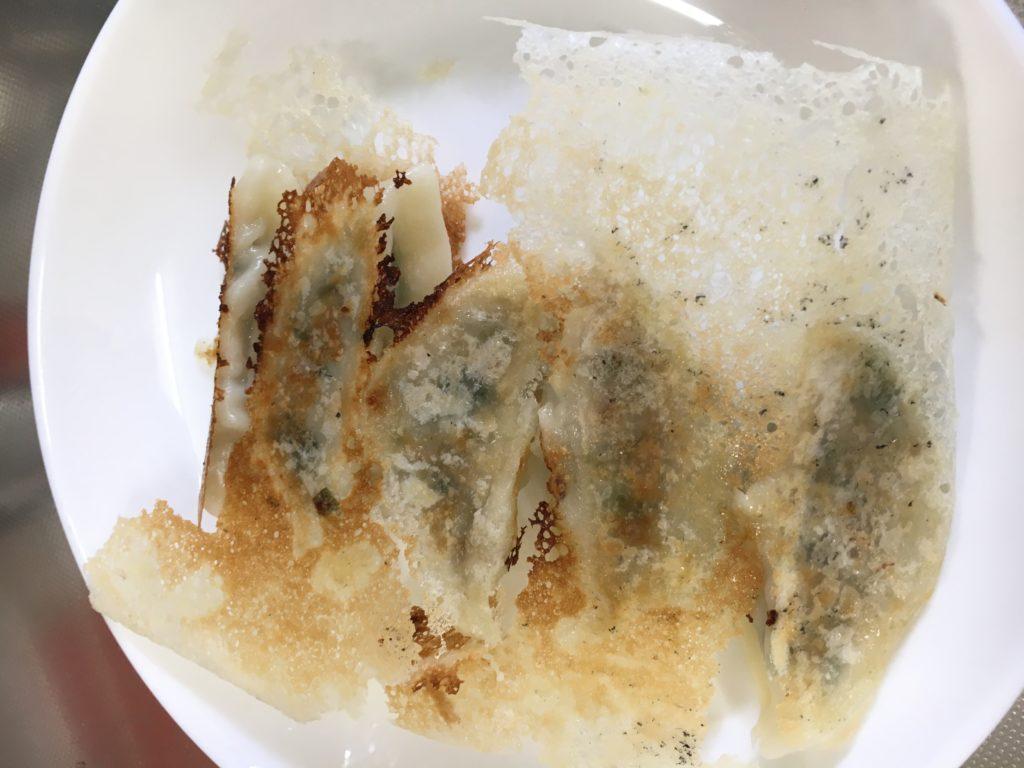 冷凍餃子のおいしい焼き方