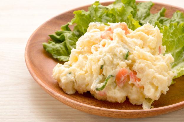 電子 レンジ ポテト サラダ