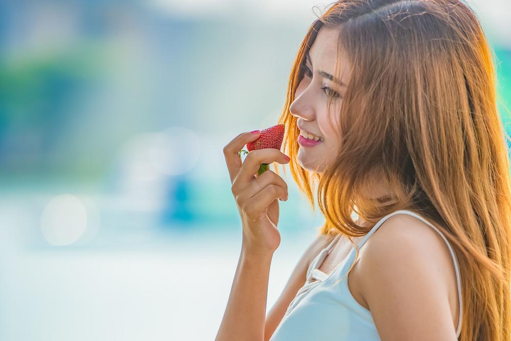 イチゴの健康効果と美容効果