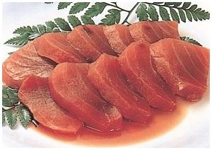 一般急速裝置生魚片解凍後