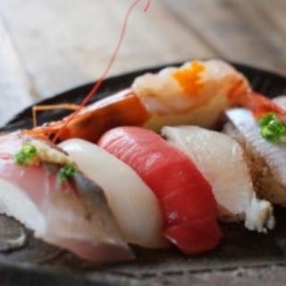 お寿司で瞬間凍結庫デモンストレーション