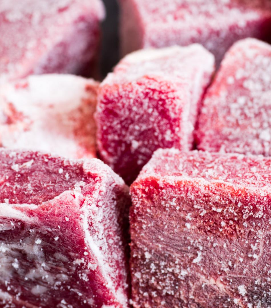 冷凍加工で生産性アップ