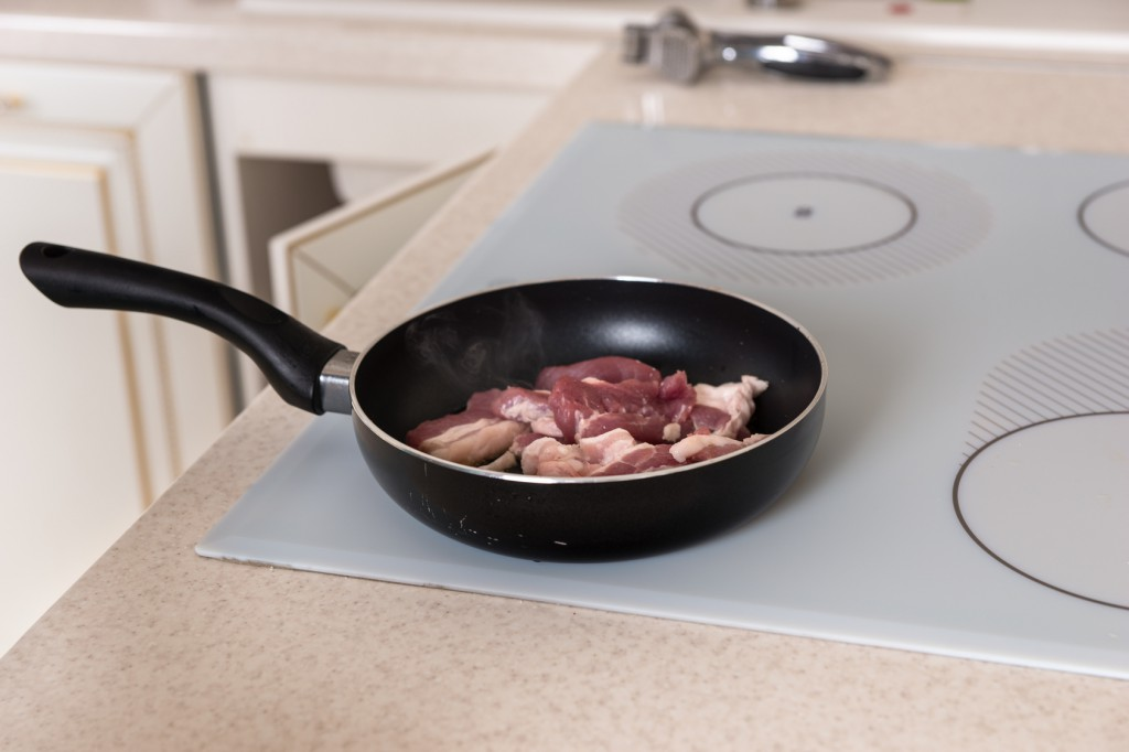 肉の加熱調理