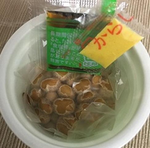 冷凍前の納豆2
