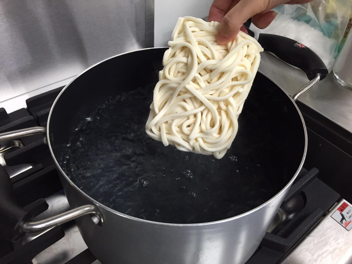 鍋での茹で方