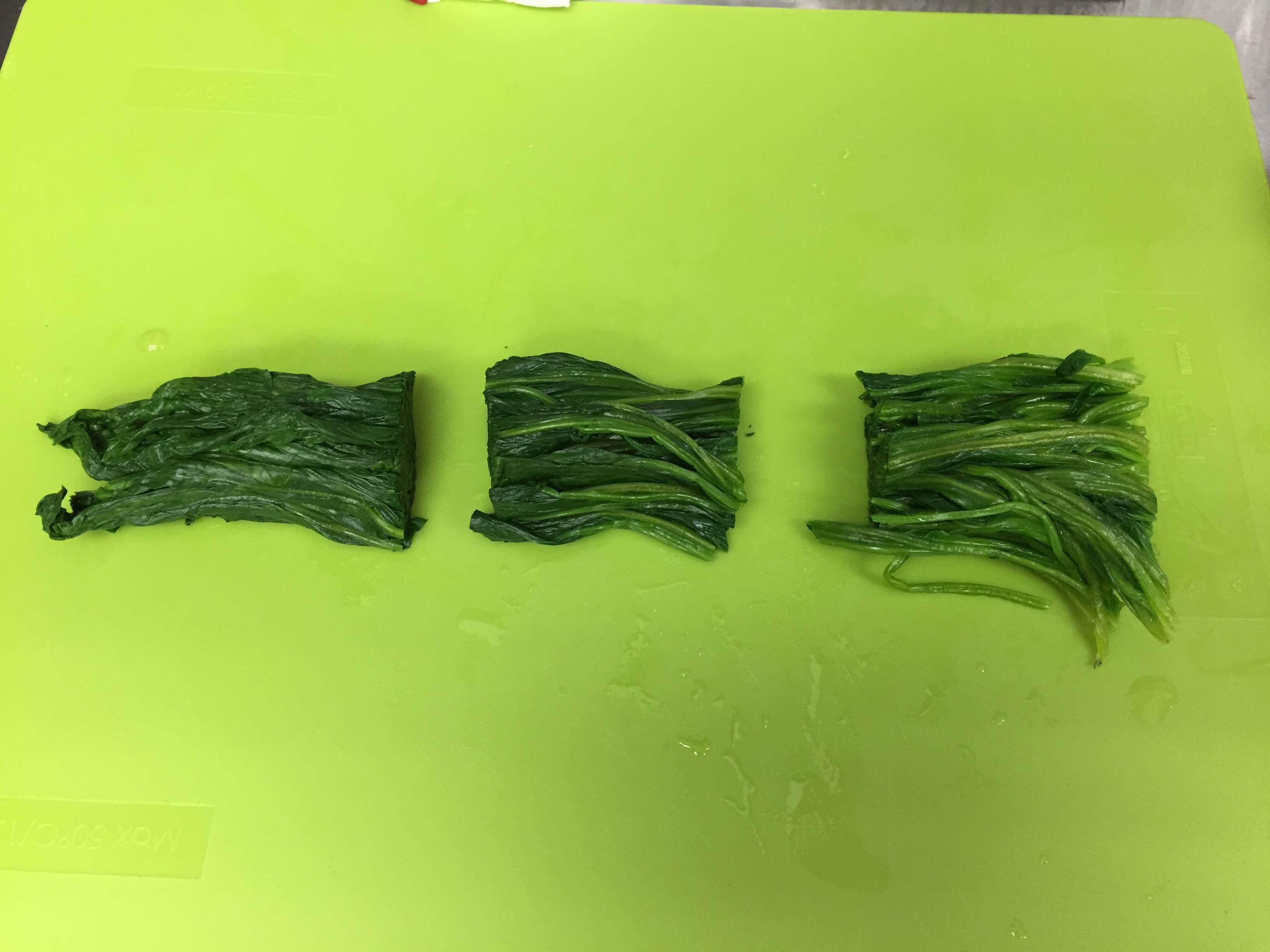 ほうれん草の冷凍保存方法