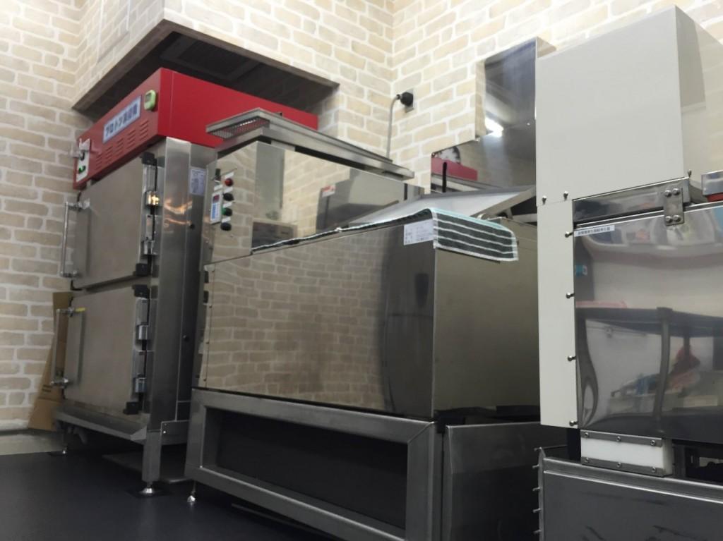 煮物の凍結比較できるショールーム
