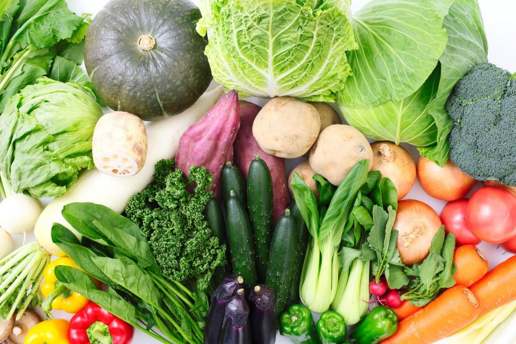 コールドチェーンの野菜