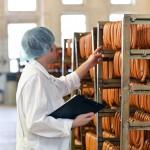 Qualittskontrolle in d. Lebensmittelindustrie - Schlachthof