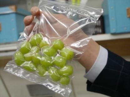 果物の急速冷凍
