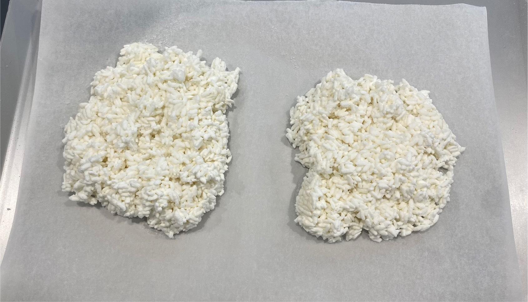 米飯凍結後